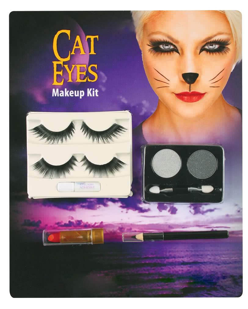 Katzen Augen Make Up Kit Katzenaugen Ganz Einfach Schminken
