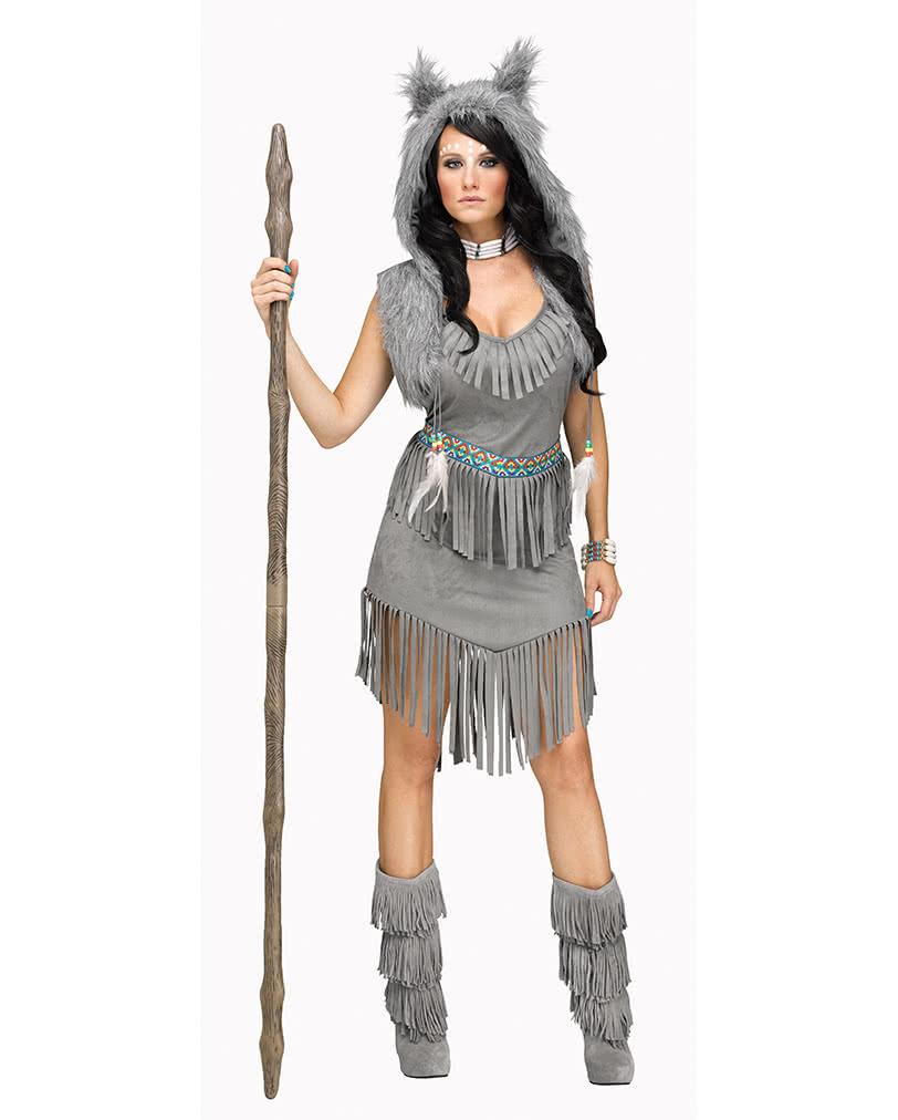 Kesser Wolf Frauenkostum Fur Fasching Karneval Universe