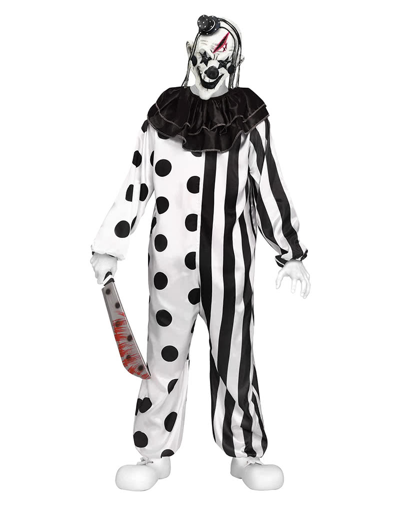Killer Clown Kostum Fur Teenager Halloween Verkleidung Karneval