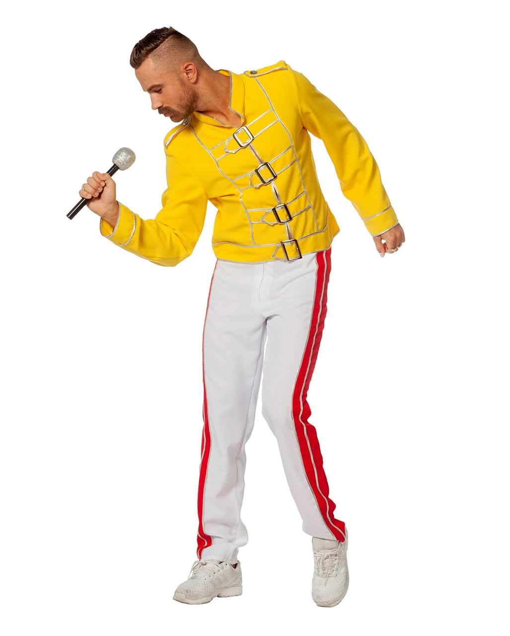 Kostüm King Freddy   80er Popstar Verkleidung   Karneval Universe