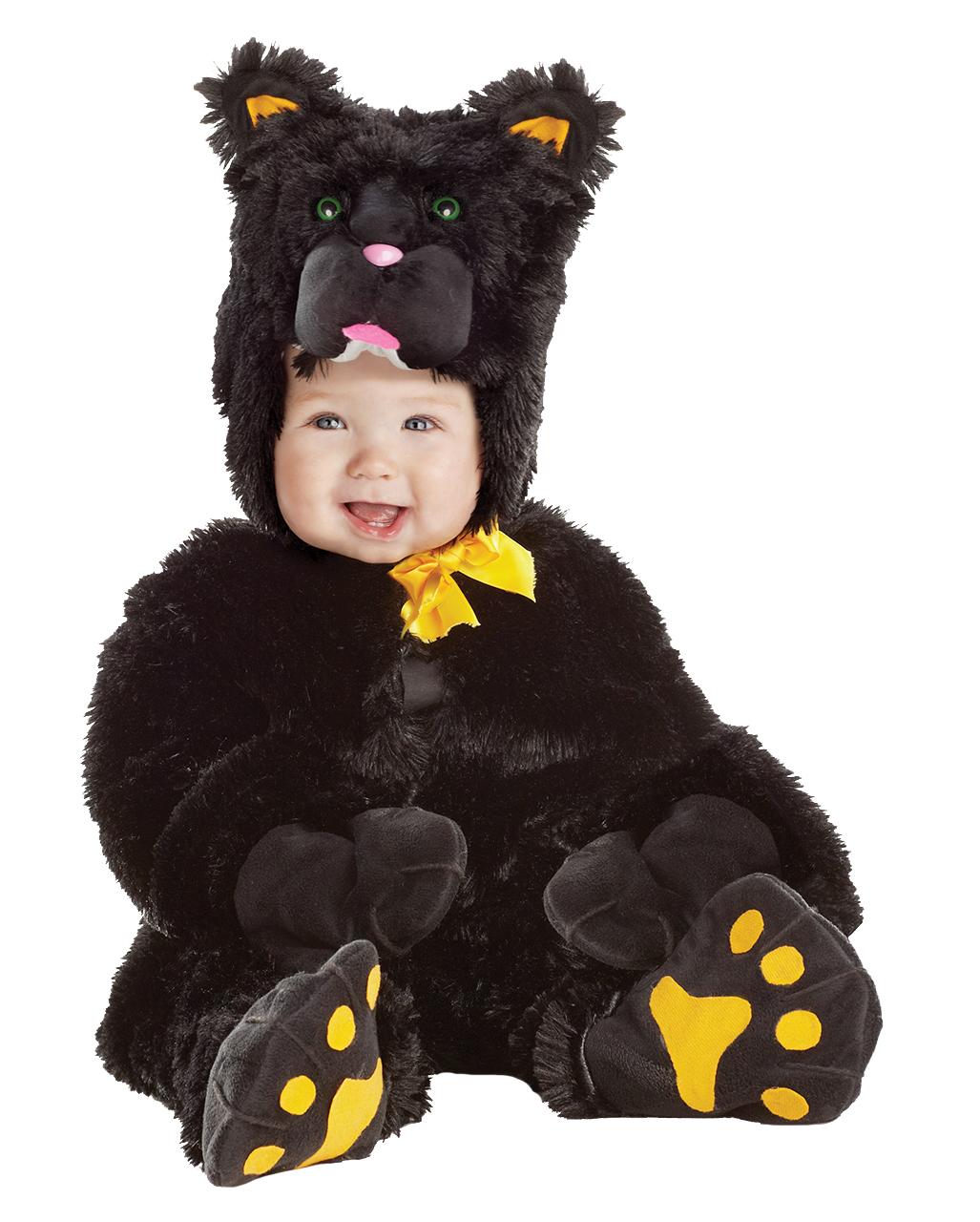 Kleine Schwarze Katze Kinderkostum Xtra Large Katzenkostum Fur