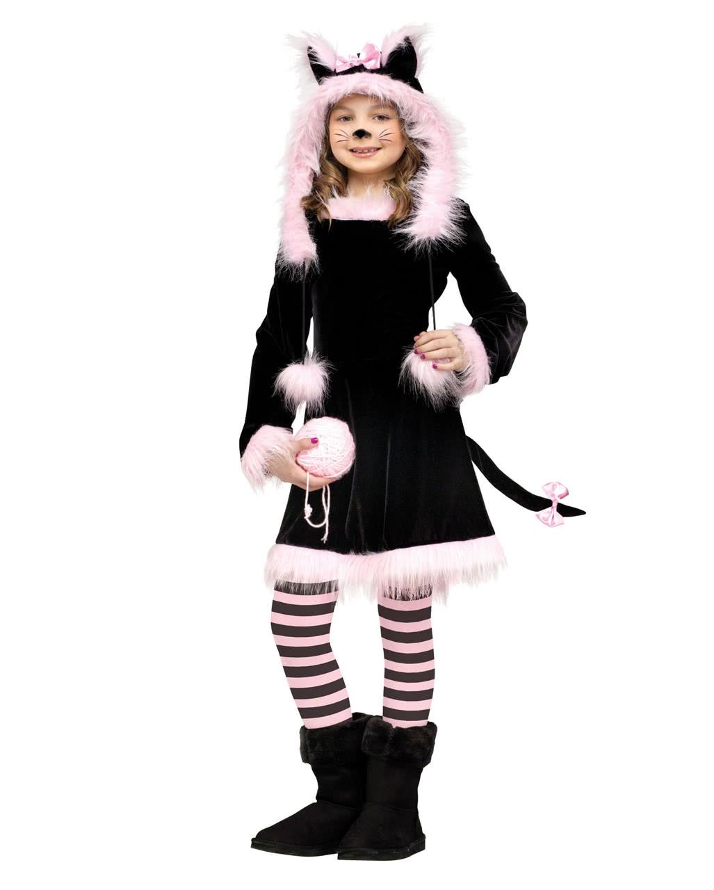 Susses Katzen Kostum Fur Kinder An Fasching Karneval Universe