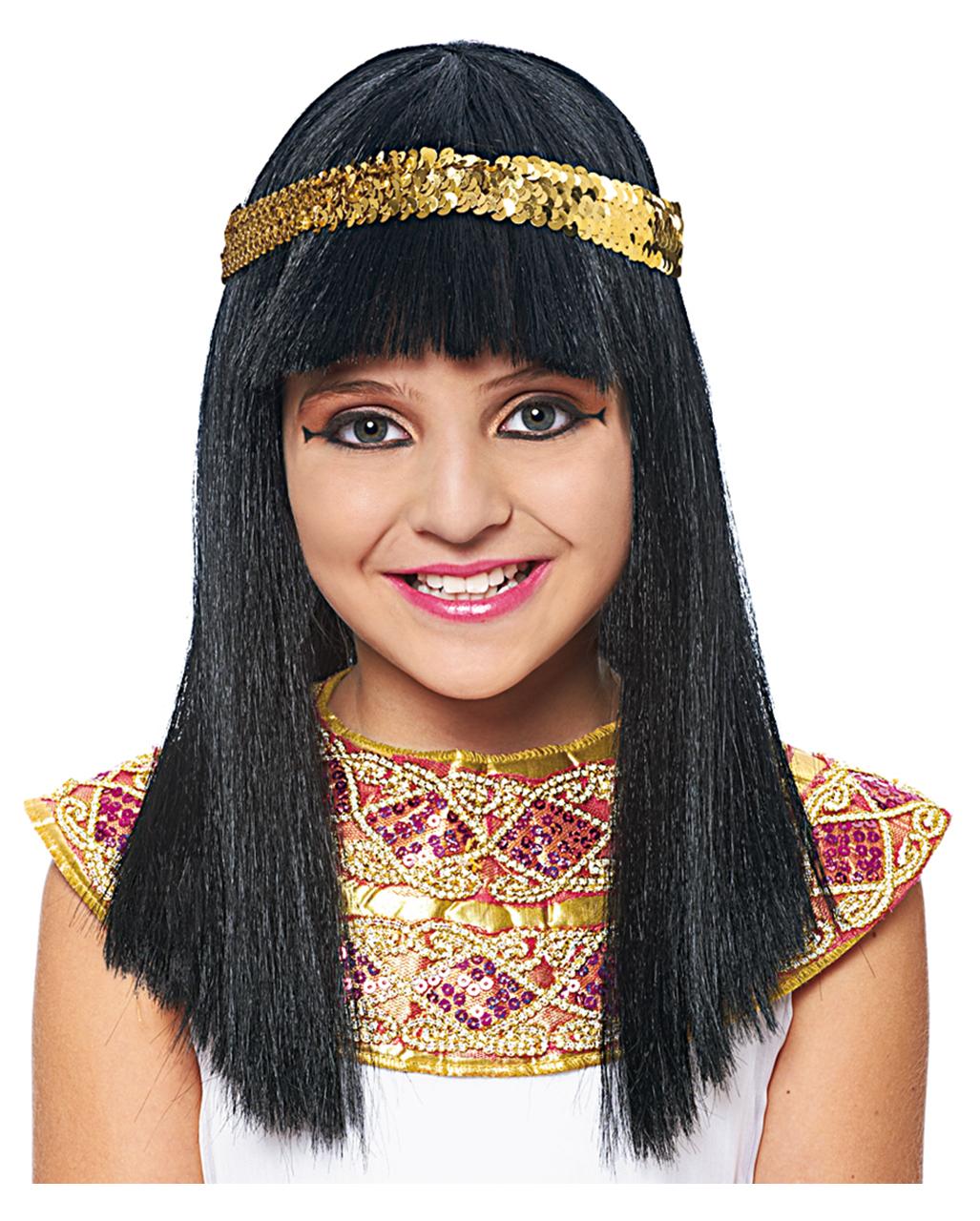 Kleopatra Kinderperucke Kleopatra Perucke Fur Madchen Karneval