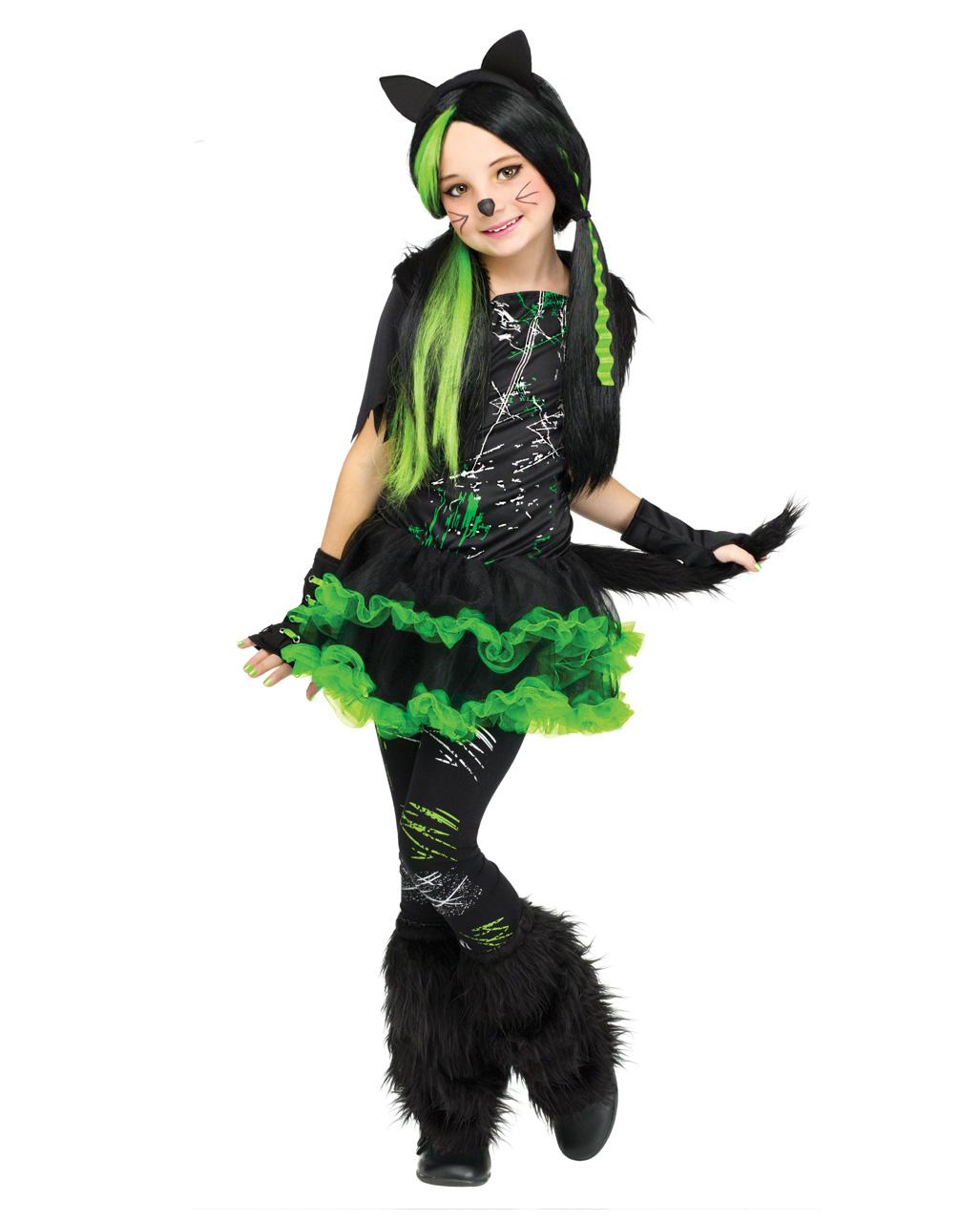 Funky Punk Katze Madchenkostum Fur Fasching Karneval Universe