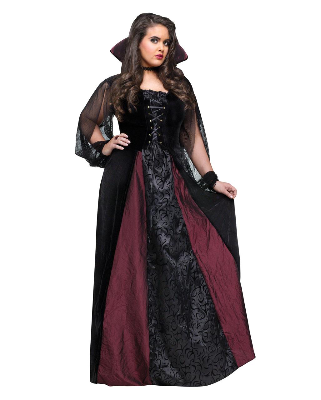 Lady Dracula Kostum Gr Xl Halloween Kostume In Grossen Grossen