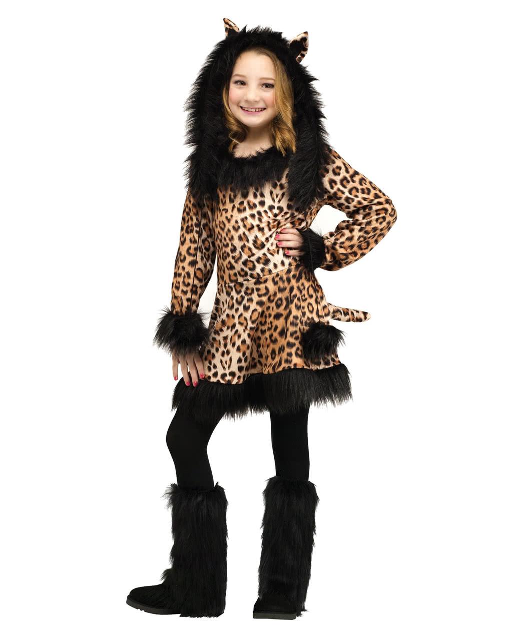 Leopard Kinder Verkleidung Fur Fasching Karneval Universe