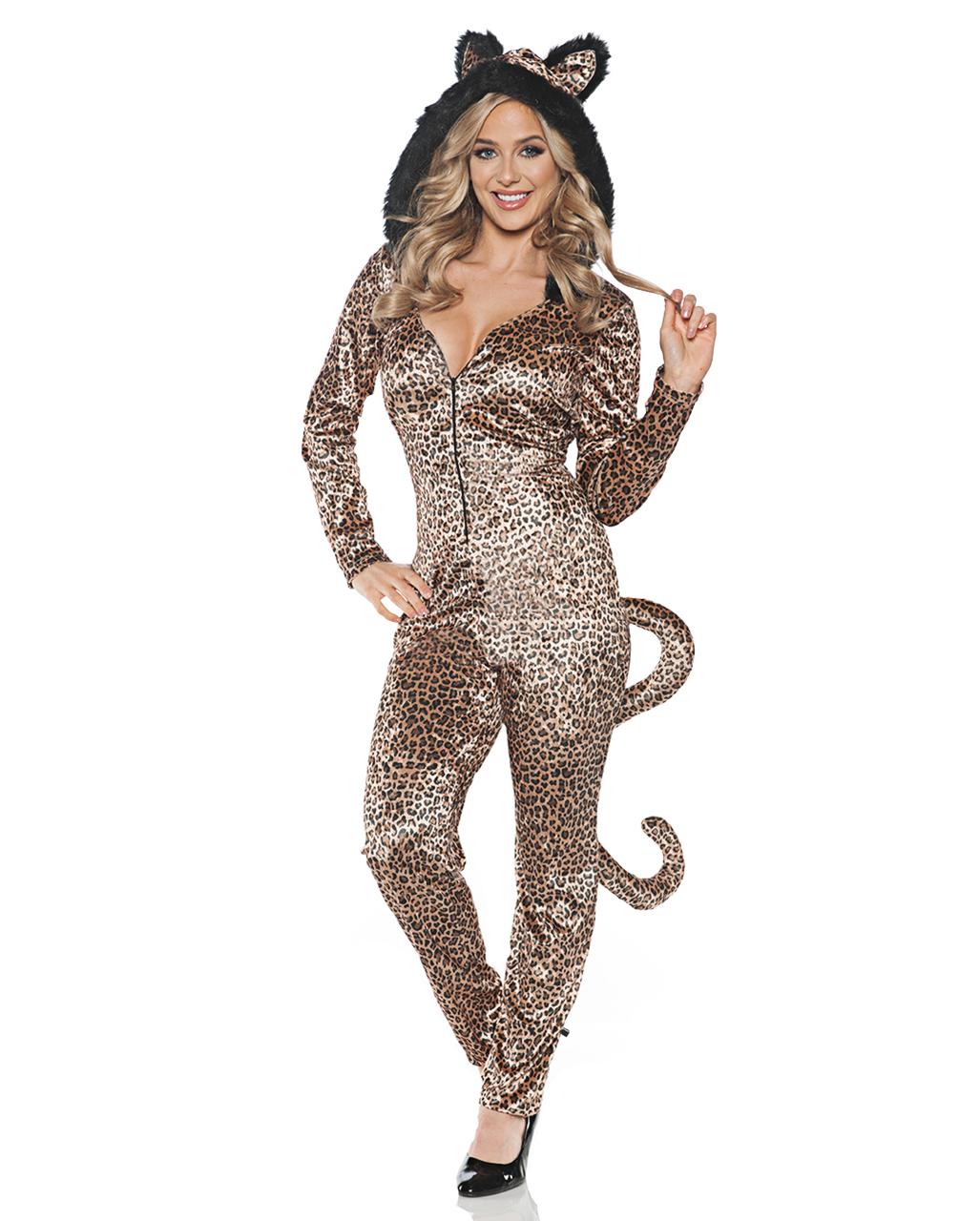 Leopard Costume Jumpsuit For Carnival Karneval Universe