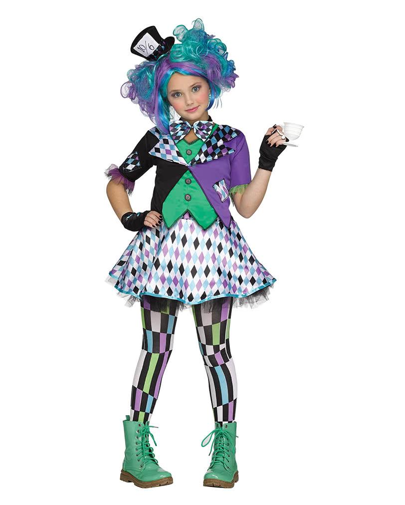 Wunderland Teenager Kostum Mad Hatter Verkleidung Karneval Universe