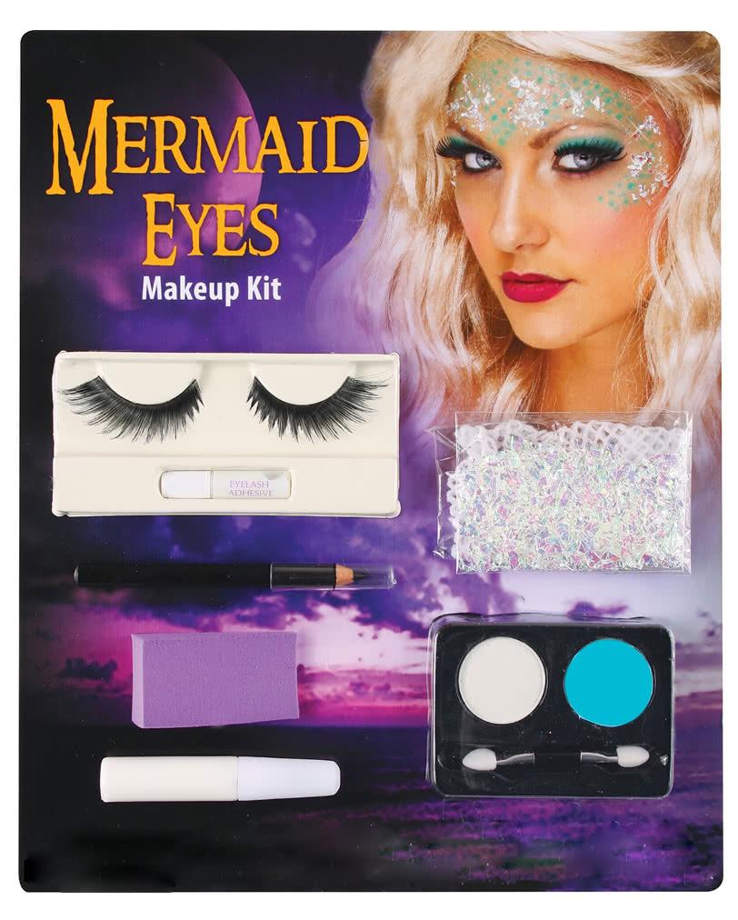 Meerjungfrau Augen Make Up Set Schminkset Fur Maritime