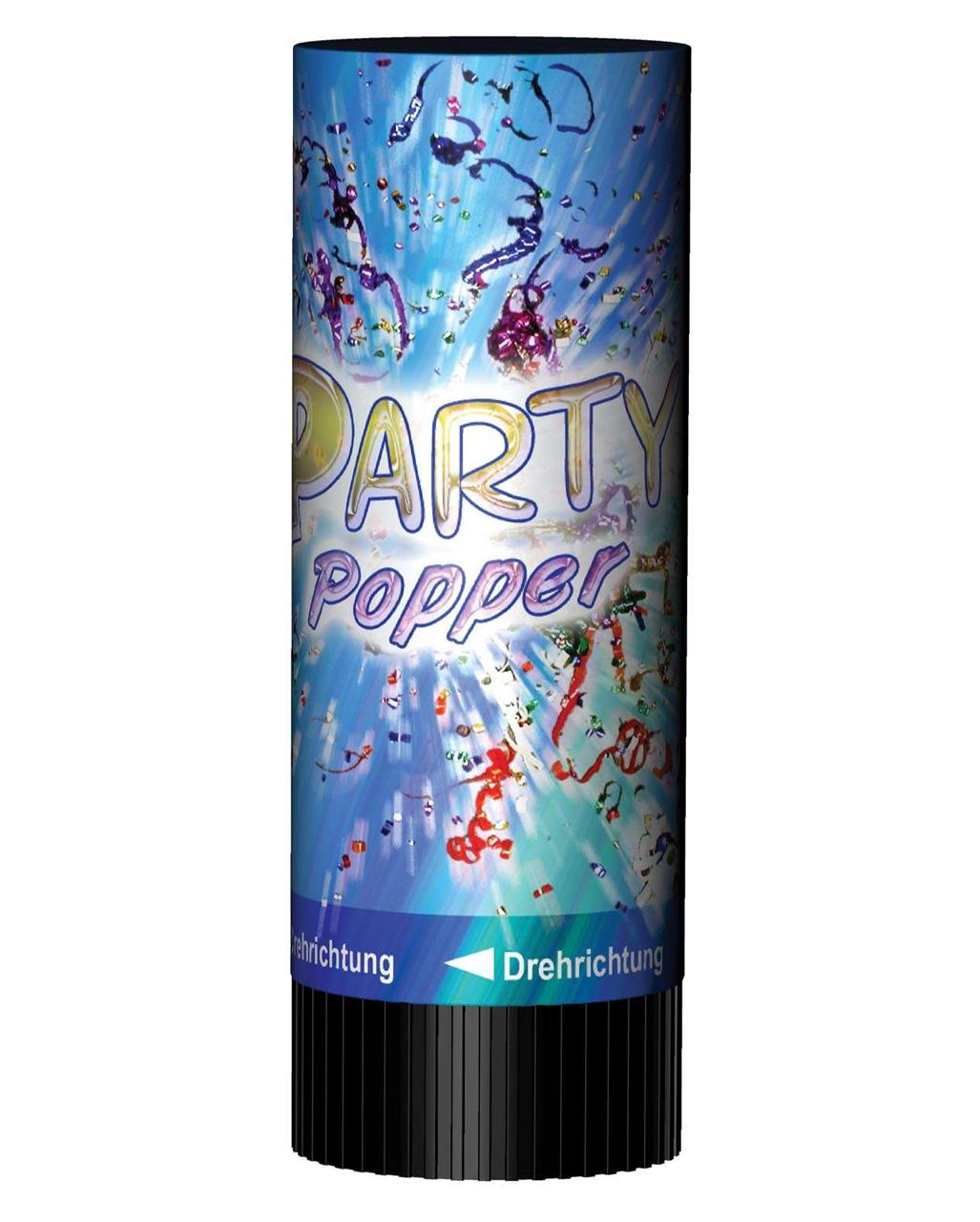 Mini Party Popper Multicolor For Birthday Karneval Universe