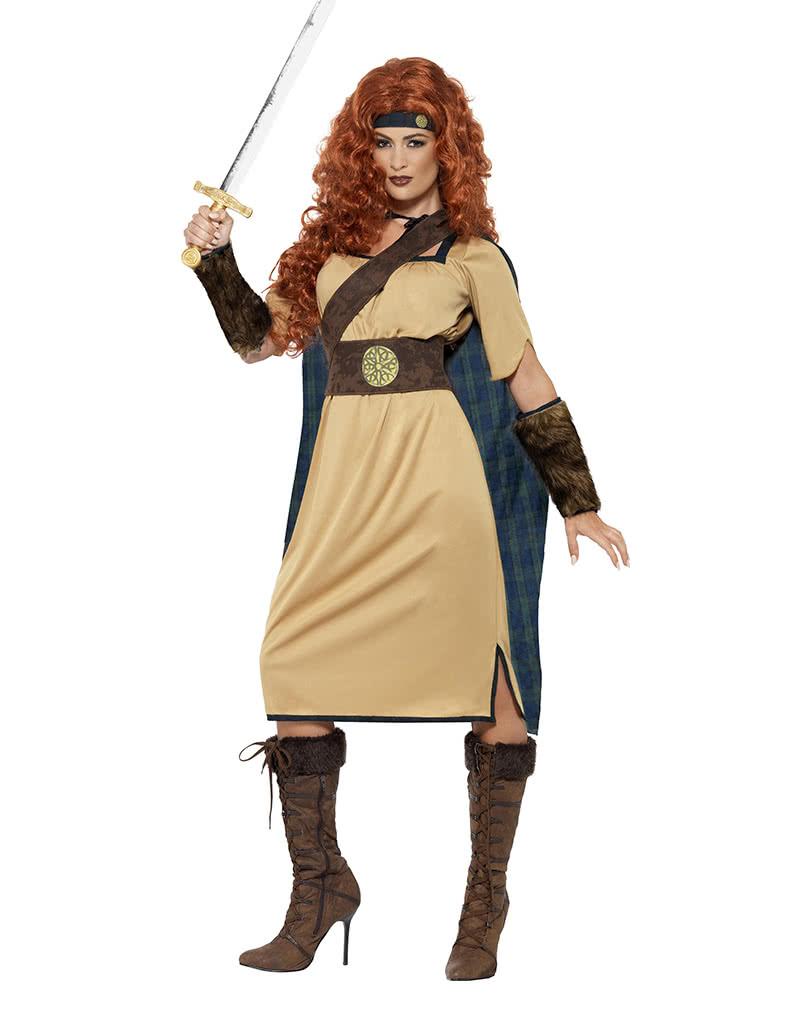 Wikinger Kriegerin Damenkostum Mittelalterliches Kostum Karneval