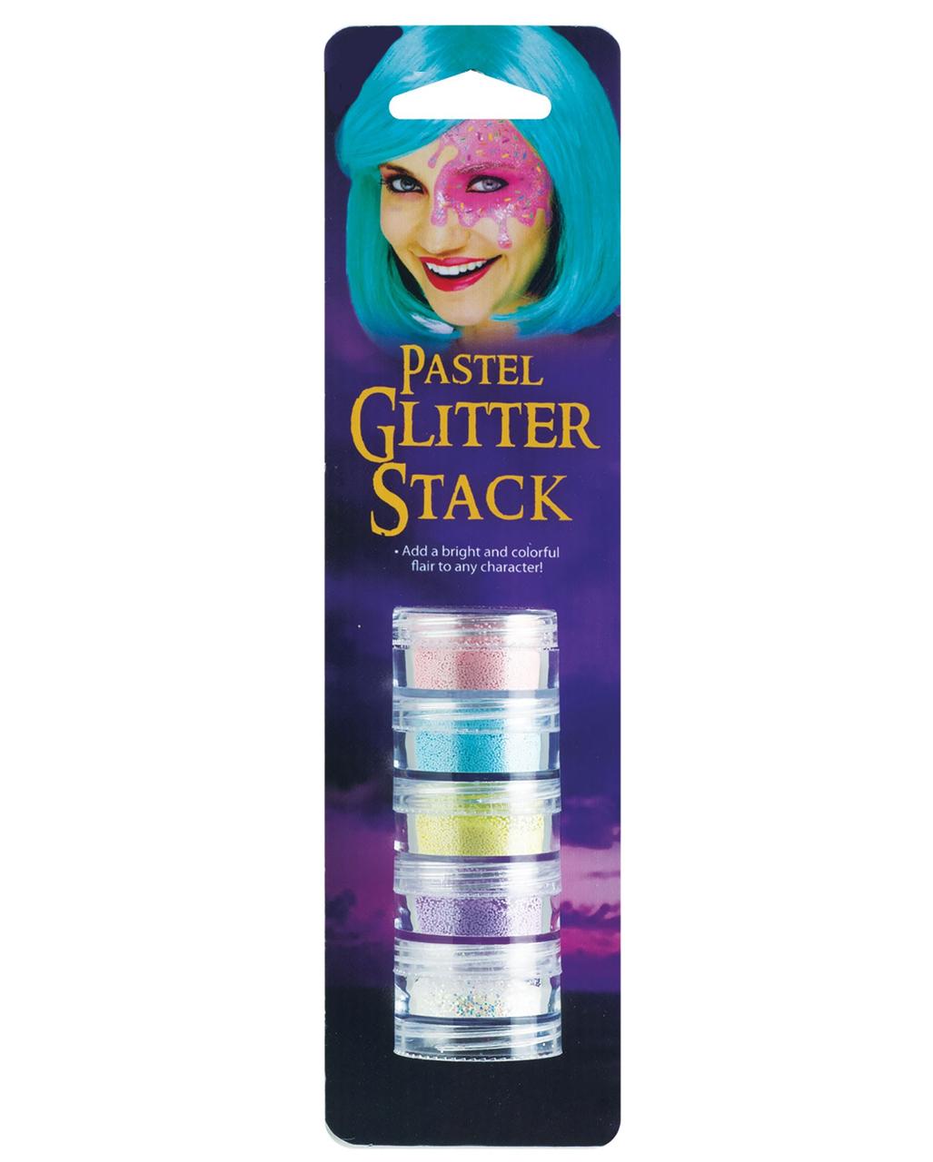 Pastell Glitter Make Up Set Fur Fasching Karneval Universe