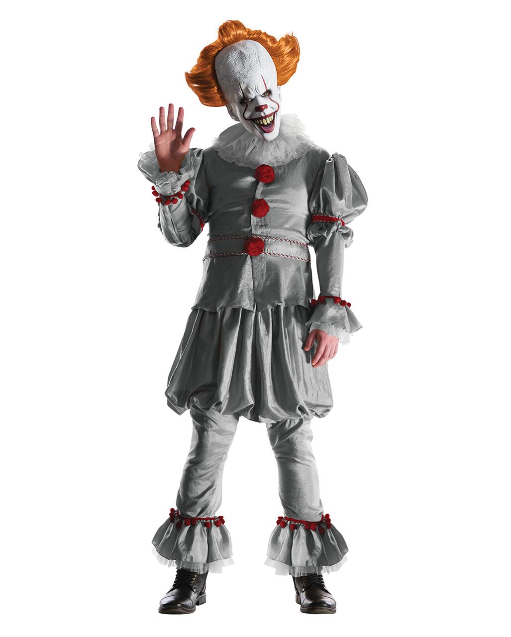 Fancy Dress Adult Creepy Zombie Clown Costume Sexy Scary Jester Ladies Halloween Fancy Dress StraßEnpreis