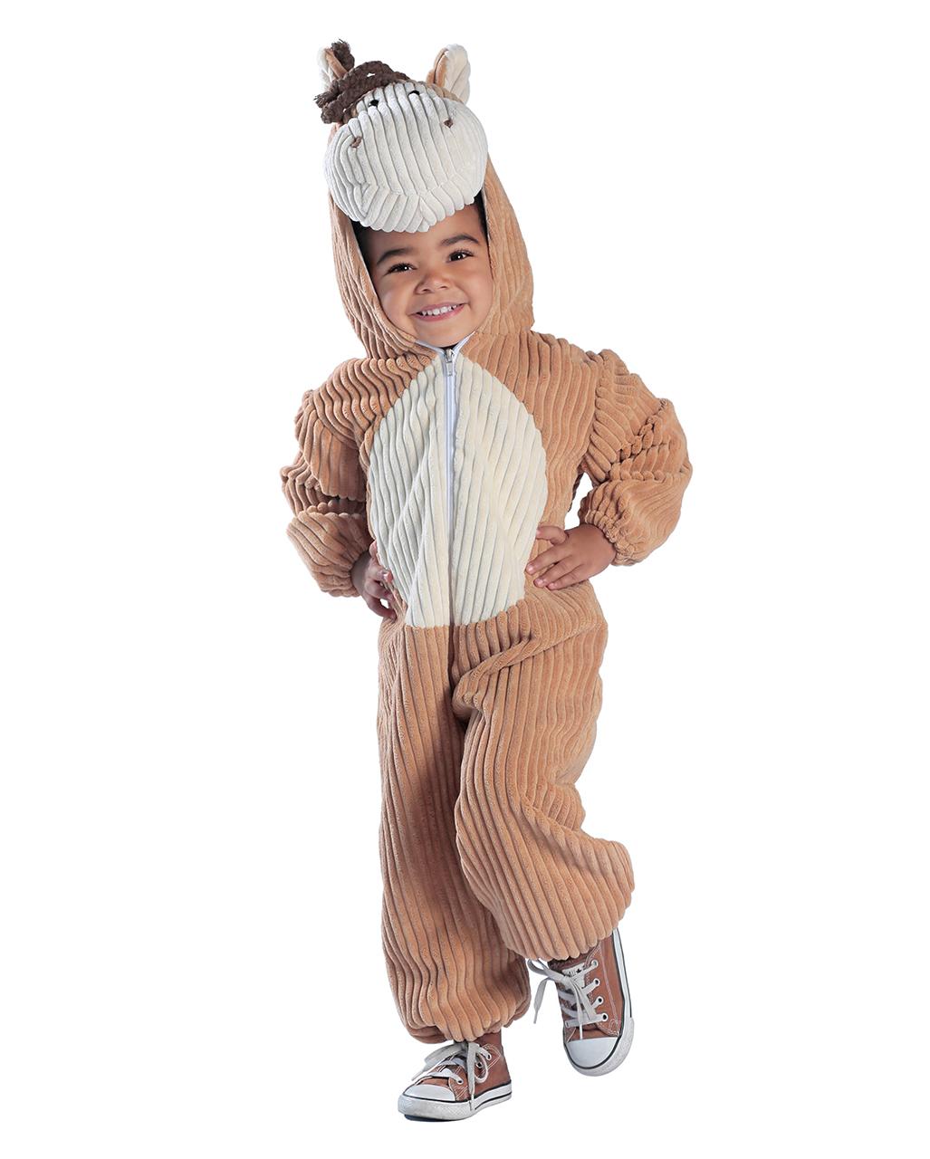 Kleinkinder Kostumanzug Pferd Cord Optik Karneval Universe