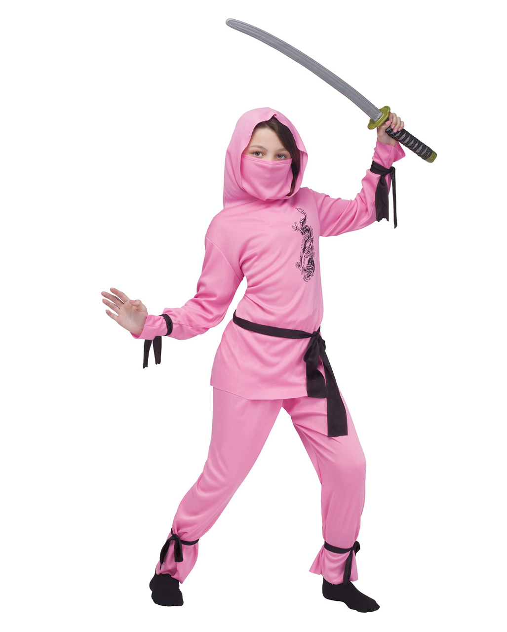Ninja Madchen Kostum Pink Fur Fasching Karneval Universe