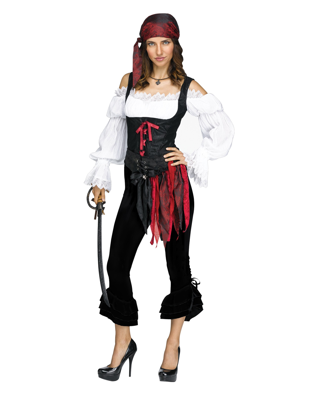 Pirate Costume Pants Black For Halloween Karneval Universe