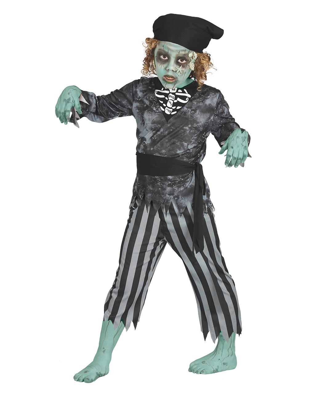 Seerauber Zombie Kinderkostum 4 Tlg Kaufen Karneval Universe