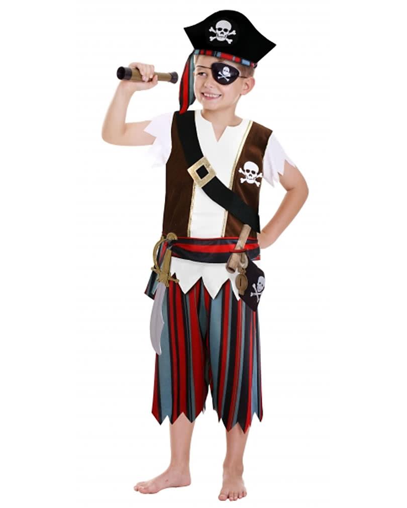 Piratenjunge Kostum Set Piraten Kapitan Kostum Fur Kinder