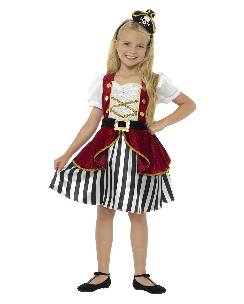 Pirate Child Costume Dress Corsairwoman Karneval Universe