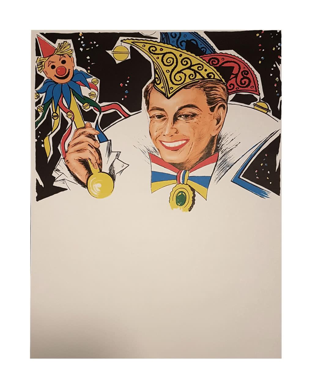 Faschingsplakate Prinz 6 St 59 X 42 Cm Kaufen Karneval Universe