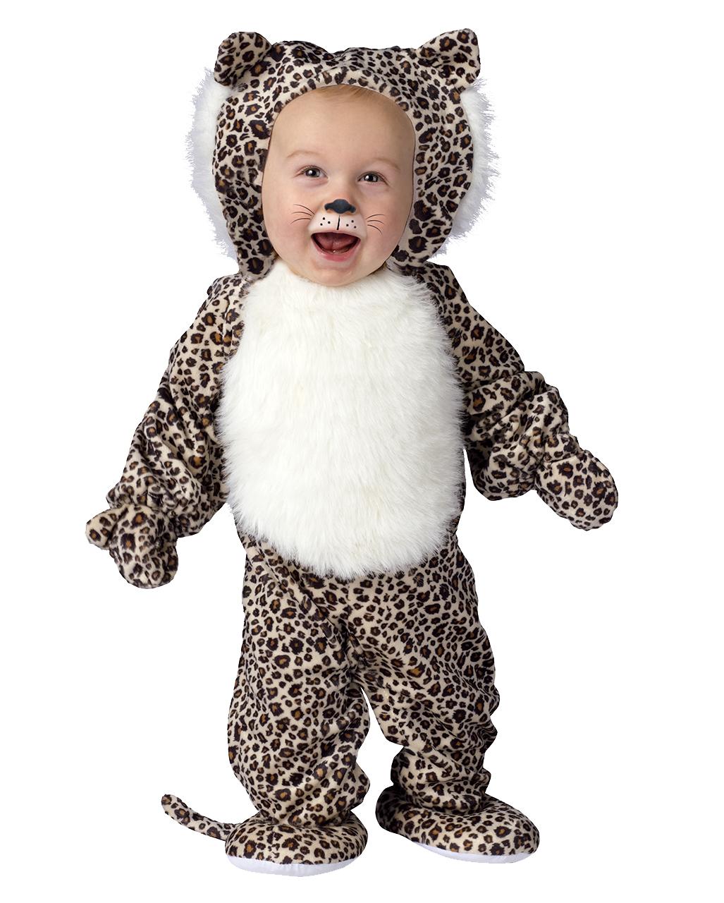 Plusch Leopard Babykostum Large Kuschelige Tierkostume Fur Babys