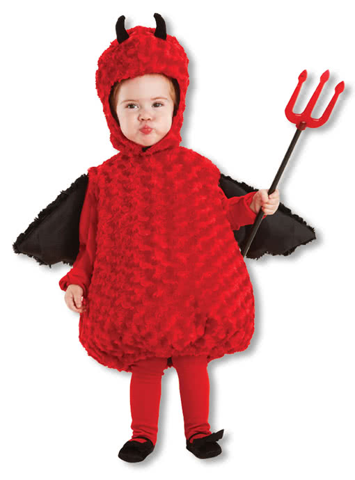 Plush Devil Baby Costume For Halloween Karneval Universe