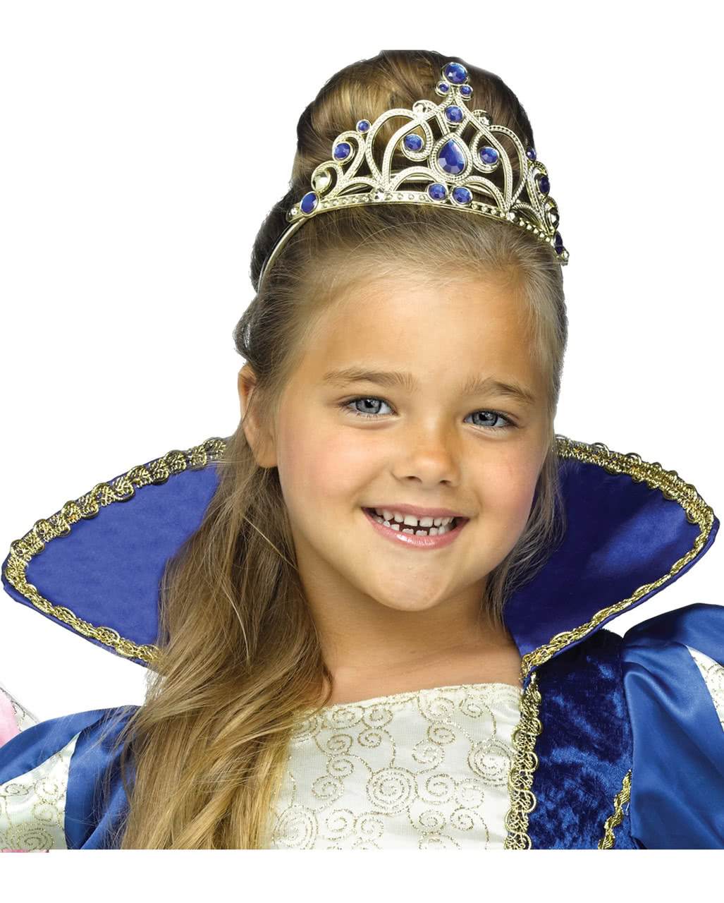 Prinzessin Diadem Blau Fur Fasching Karneval Universe