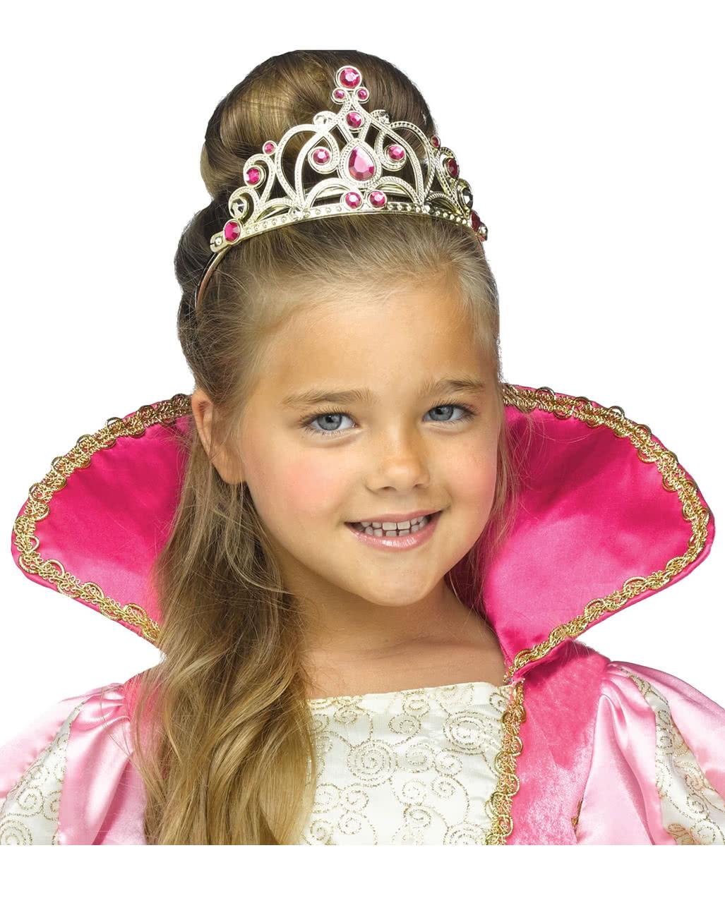 Prinzessin Diadem Pink Suss Kaufen Karneval Universe