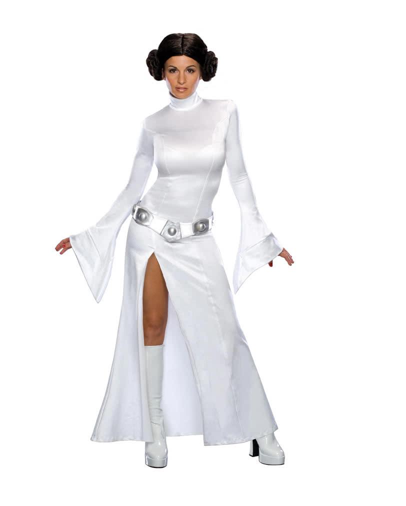 Prinzessin Leia Kostum Fur Erwachsene Krieg Der Sterne Damenkostum