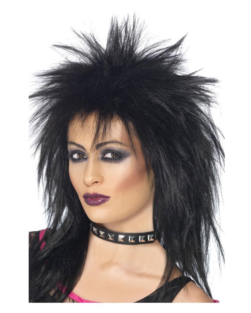 80er Jahre Rockstar Perucke Fur Deine Verkleidung Als Rockerin