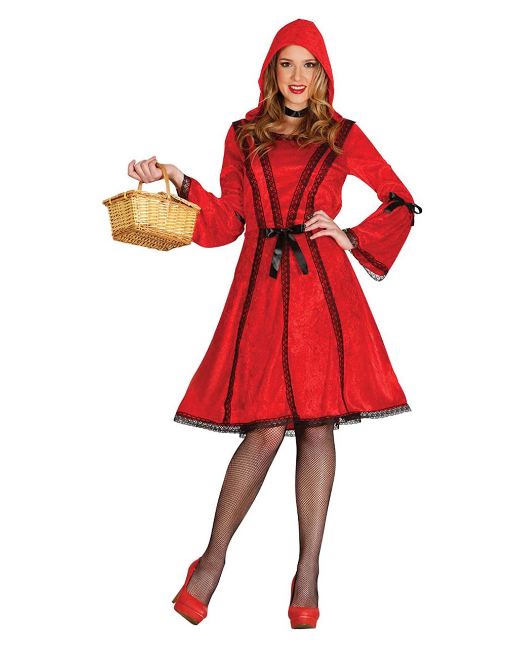 Susses Rotkappchen Kleid Fur Halloween Fasching Karneval Universe