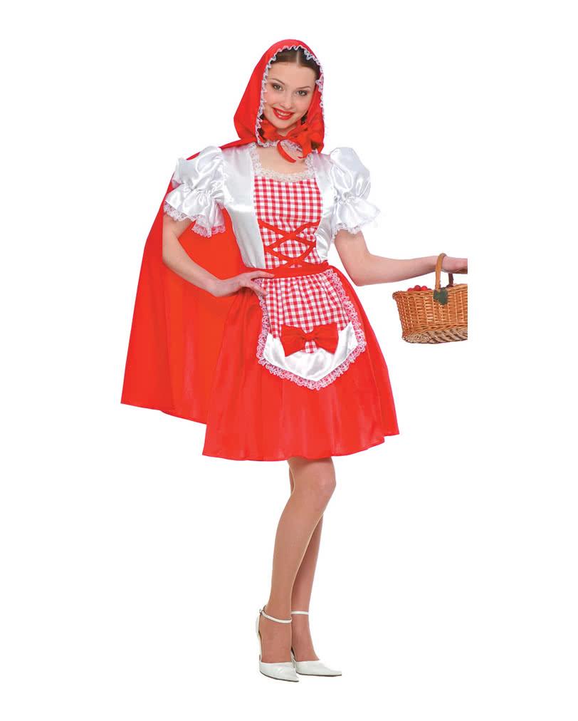 Rotkappchen Kostum Mit Umhang Fur Faschings Mottopartys