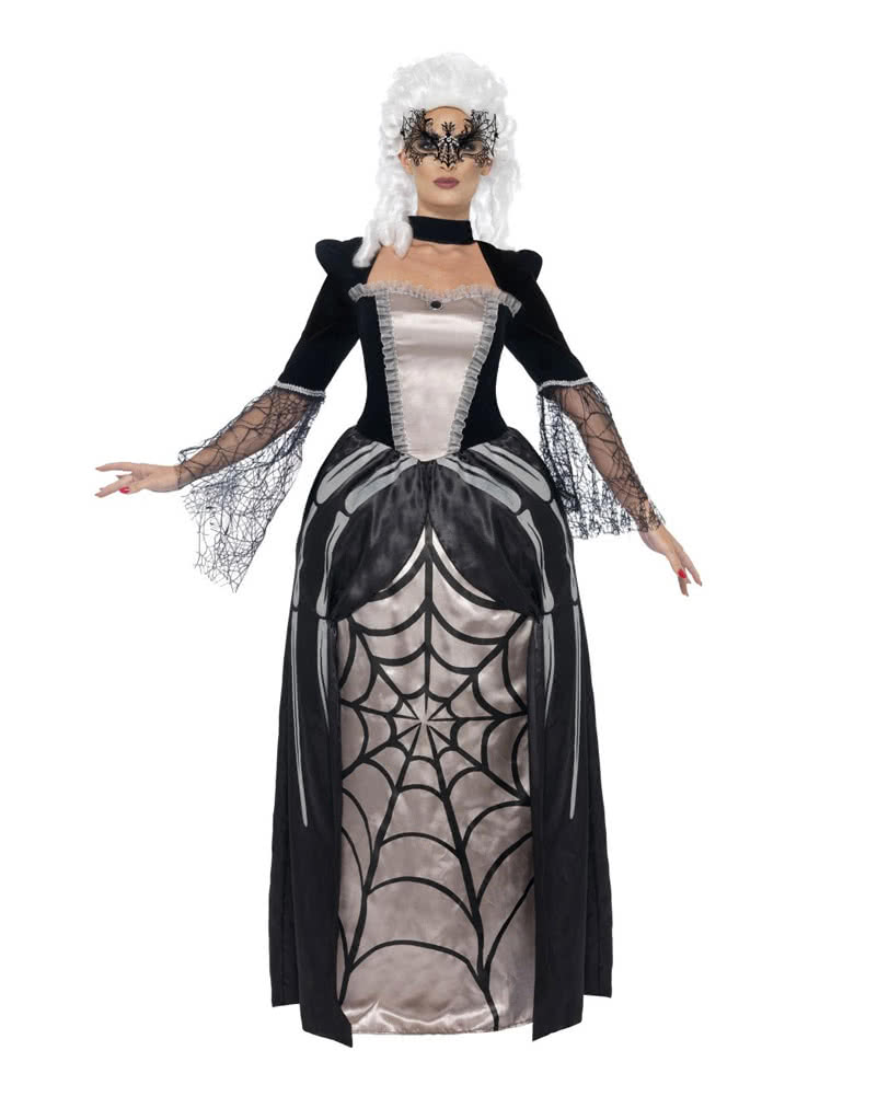 Schwarze Spinnen Prinzessin Kostum Dustere Prinzessin Verkleidung