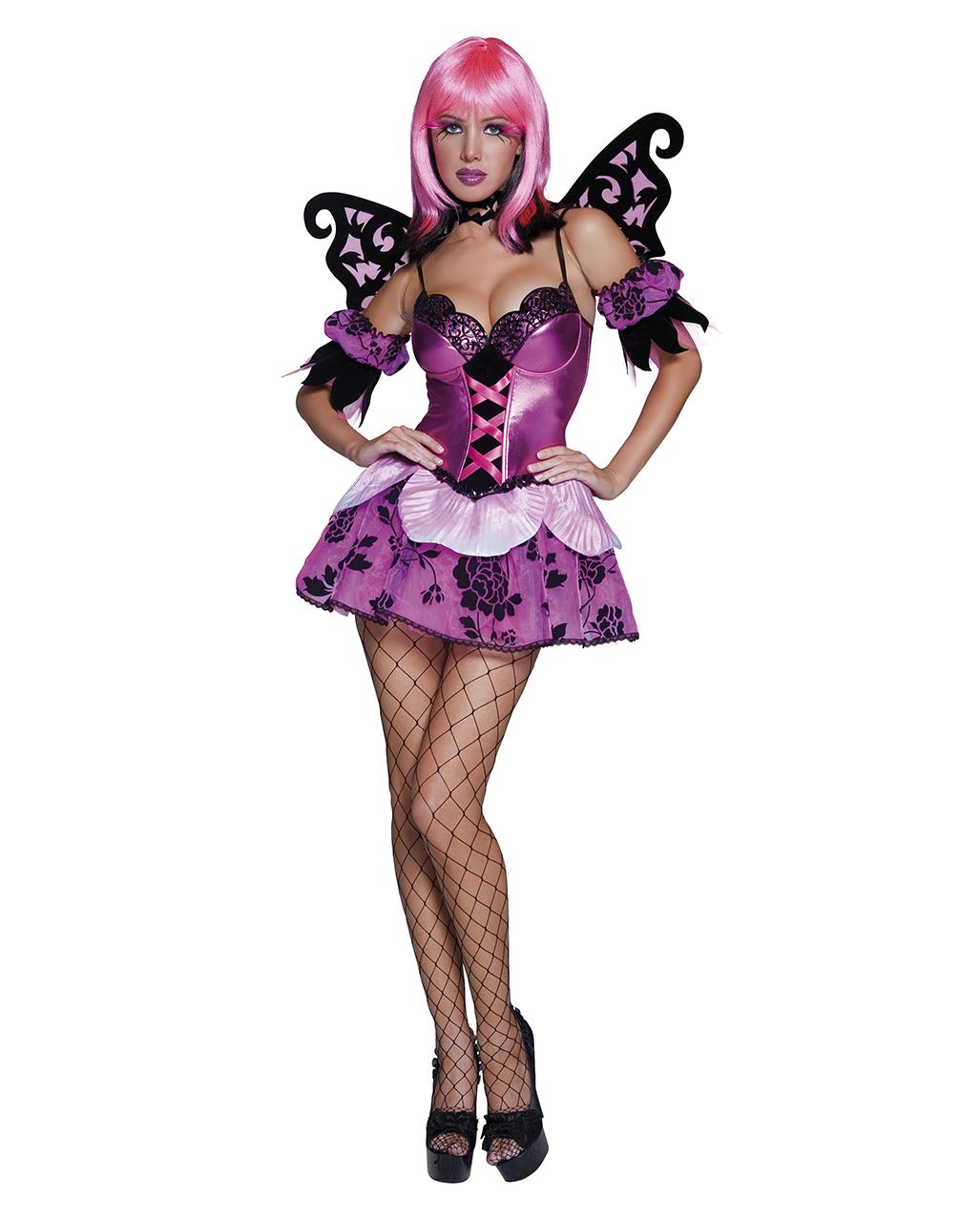 Sexy Garten Elfen Outfit Erotisches Fantasy Damen Kostüm