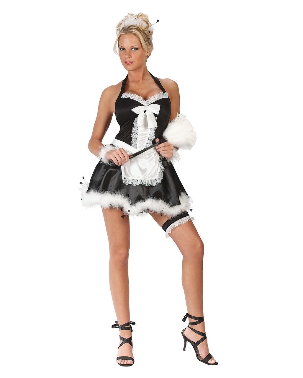 Sexy Hausmadchenkostum M L Sexy Faschings Kostume Karneval Universe