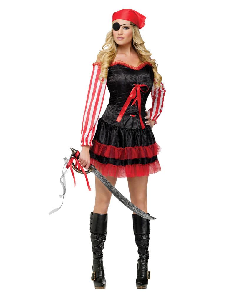 Sexy Piratin Kostum Gunstiges Seerauberin Kostum Kaufen Karneval