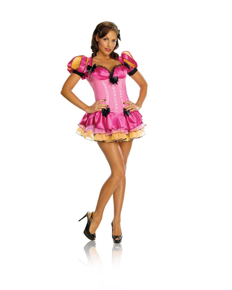Sexy Marchen Kostum Prinzessin Kleid In Pink Karneval Universe