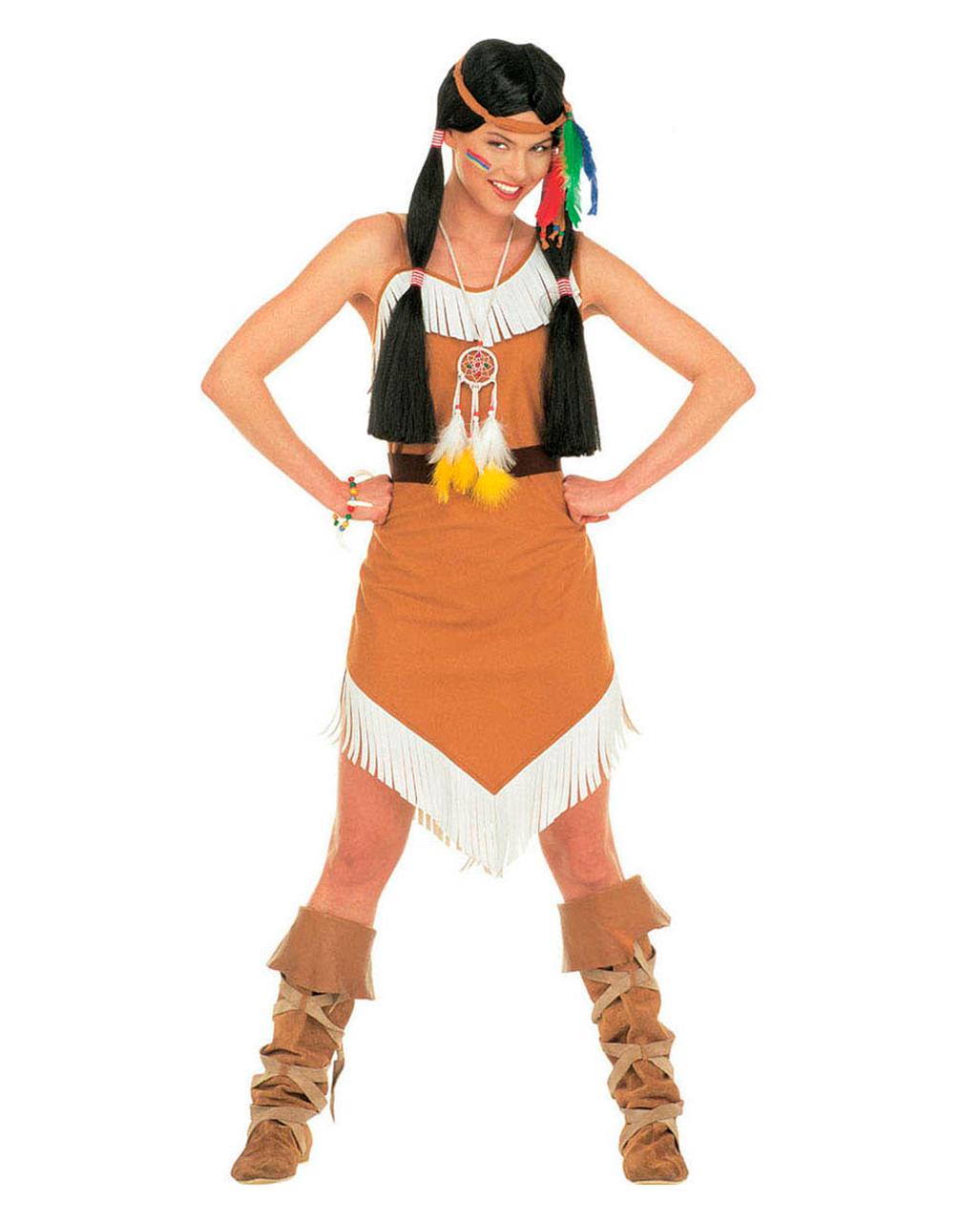 Squaw Indianerin Kostum Gr M Kostume In Grossen Grossen Findest Du