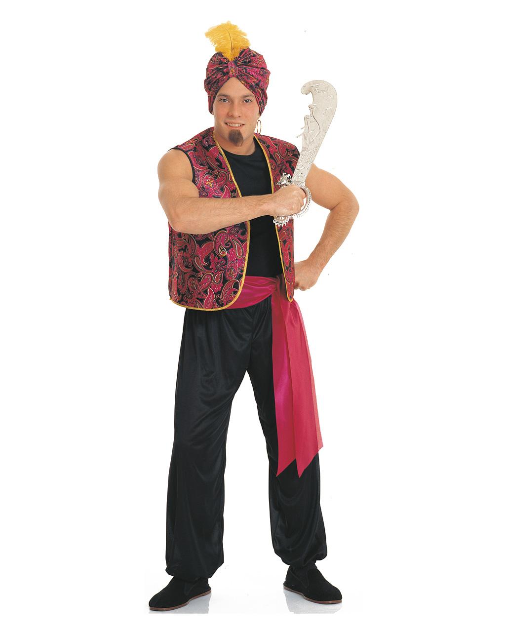 Sultan Kostum Mit Turban Orient Kostum Karneval Universe