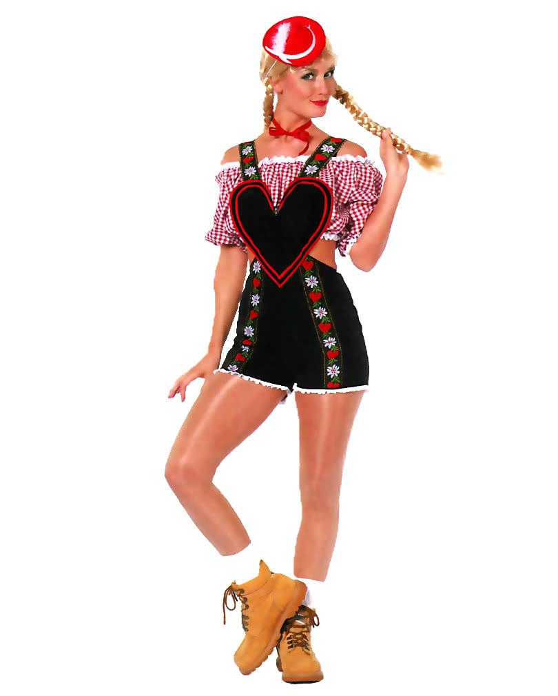 Latzhosen Kostum Damen Bayerische Verkleidung Fur Frauen