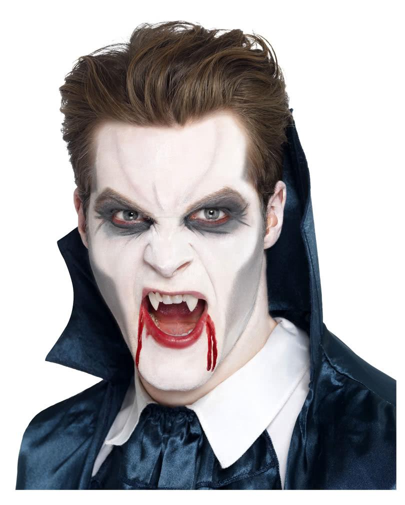 Vampir Schminke 4 Teilig Vampir Make Up Leicht Gemacht Karneval
