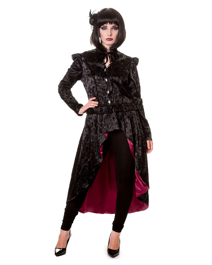 Viktorianischer Gothic Mantel Gothic Mantel Damen Frack
