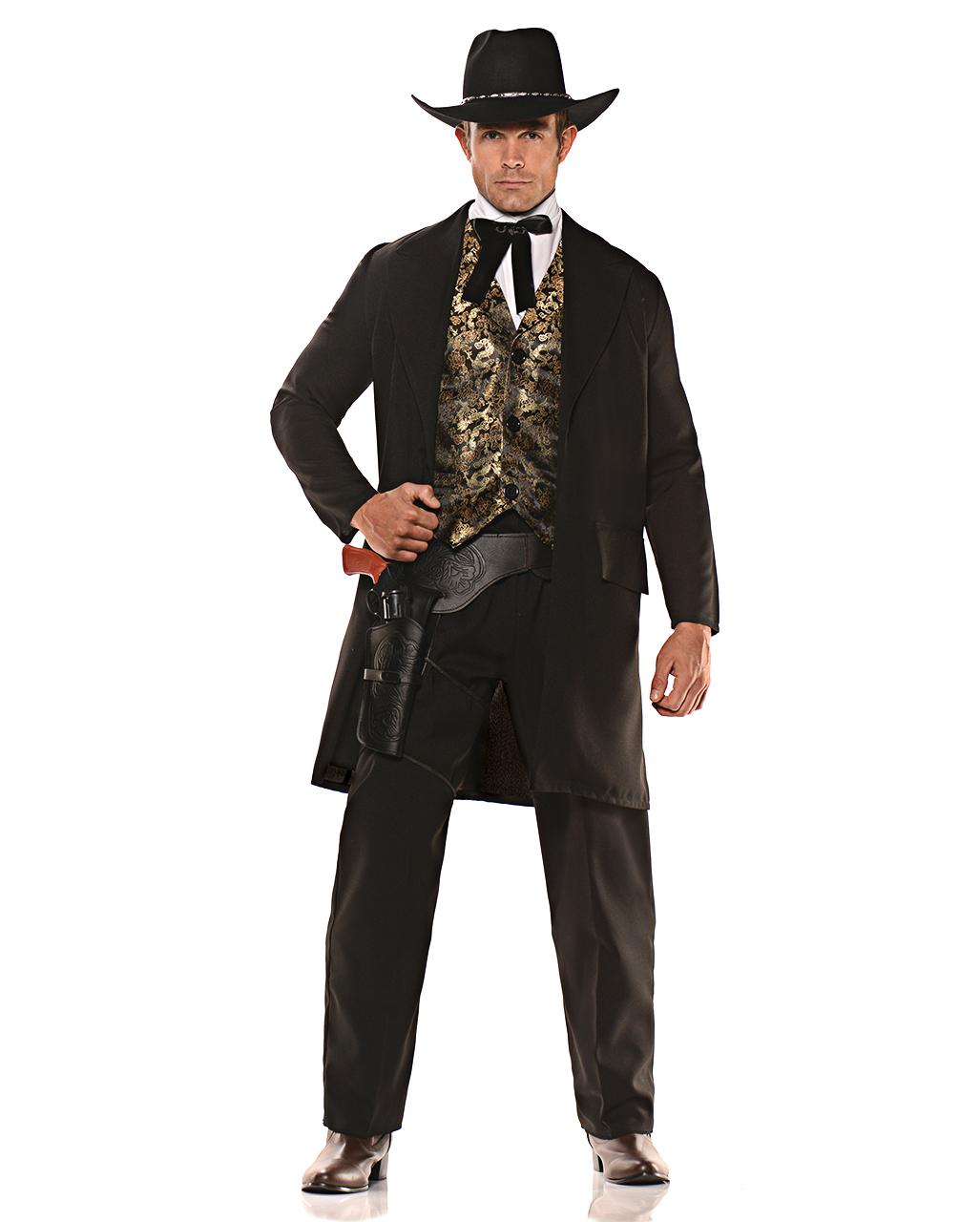 Western Gunfighter Costume For Carnival Karneval Universe