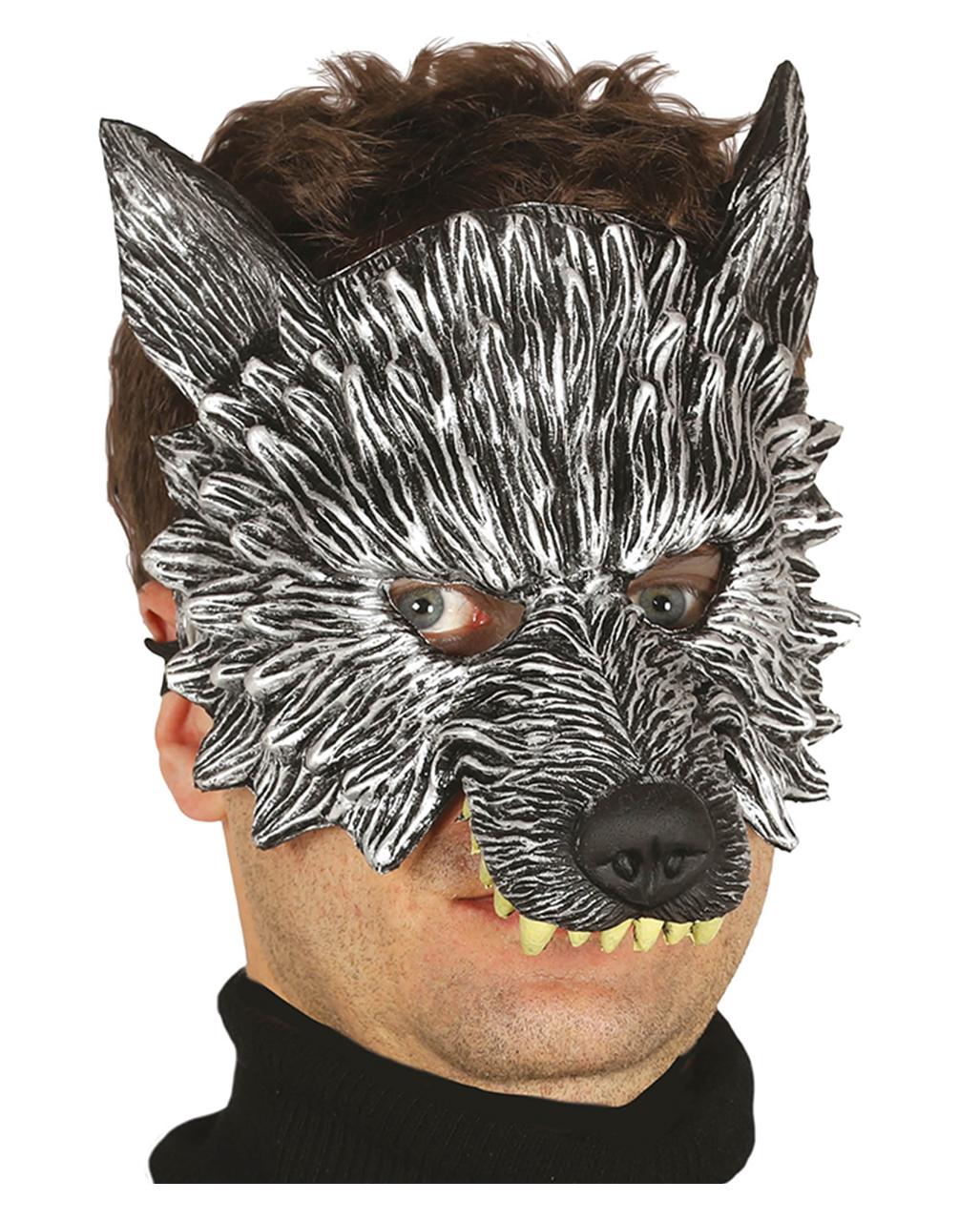 Wolf Maske Fur Fasching Tiermaske Karneval Universe