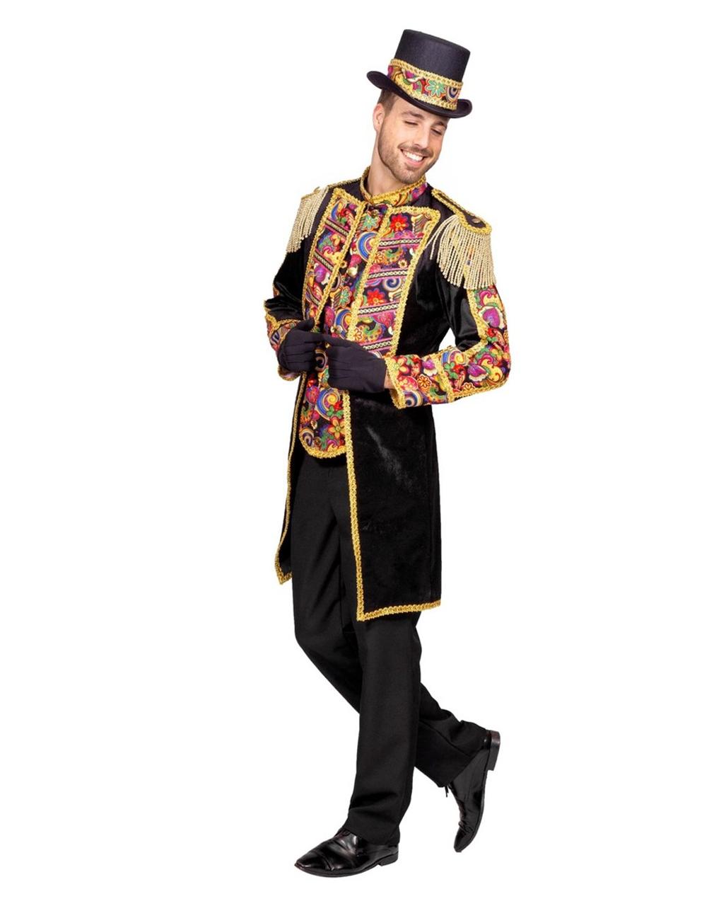 Herrenfrack Zirkus Dompteur Fur Fasching Karneval Universe