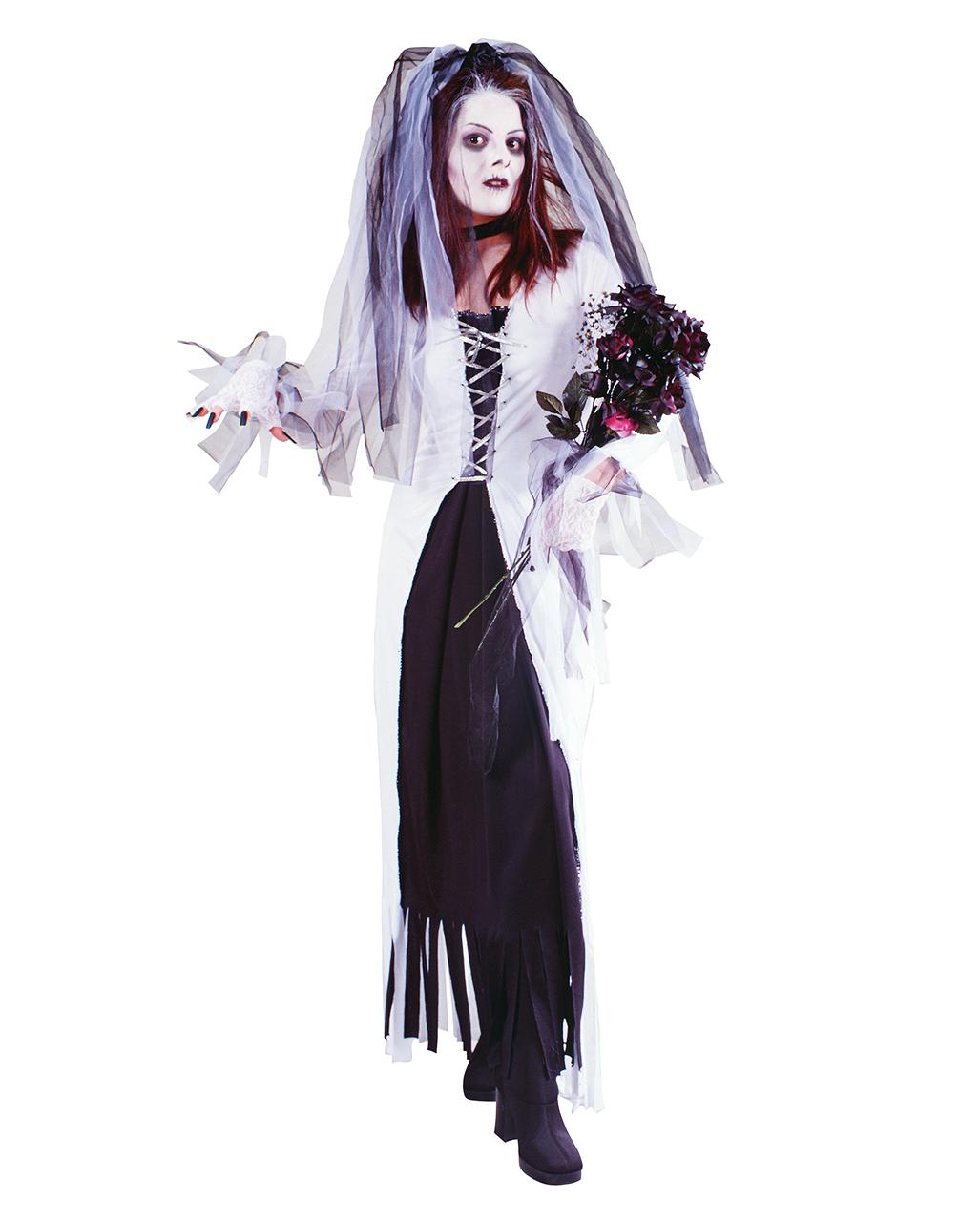 Zombie Bride Costume S M Zombie Costume Halloween Costume