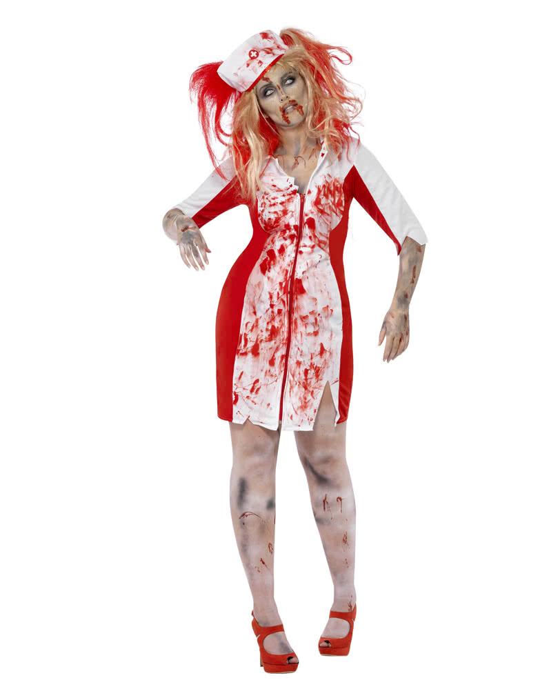 Zombie Krankenschwester Kostüm Plus Size   Horror Nurse Verkleidung ...