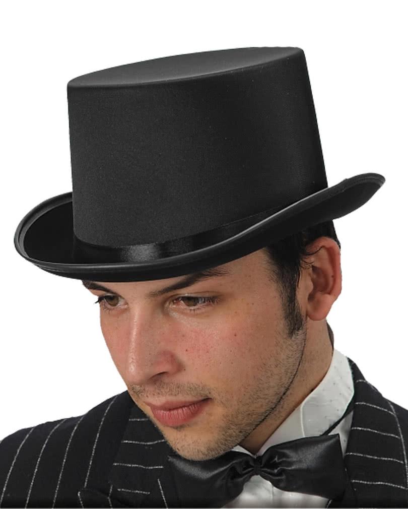 Zylinder Schwarz Gr 58 Schicker Hut Eines Gentleman Karneval