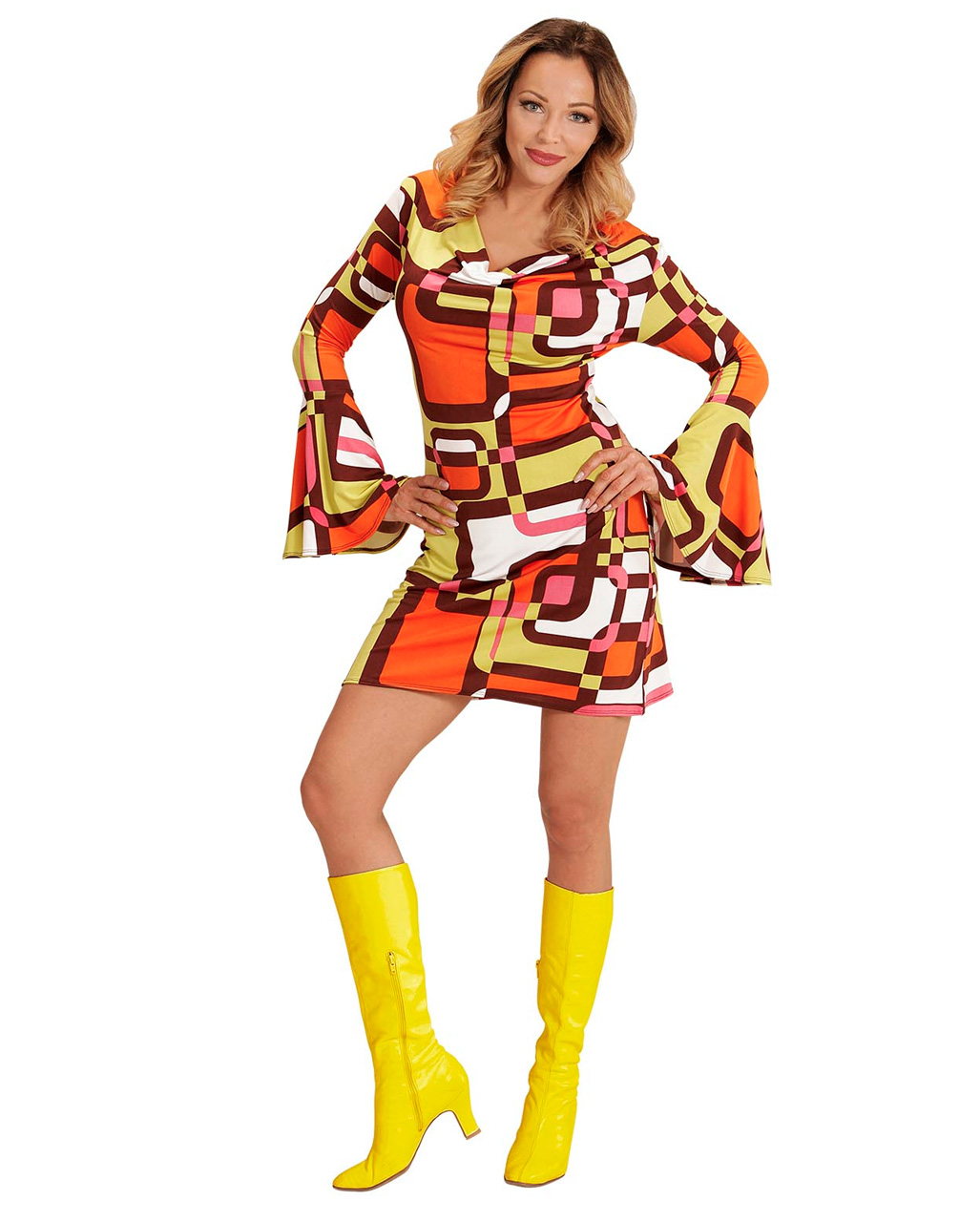 Groovy 70\'s Dress Tubes for 70s party | - Karneval Universe