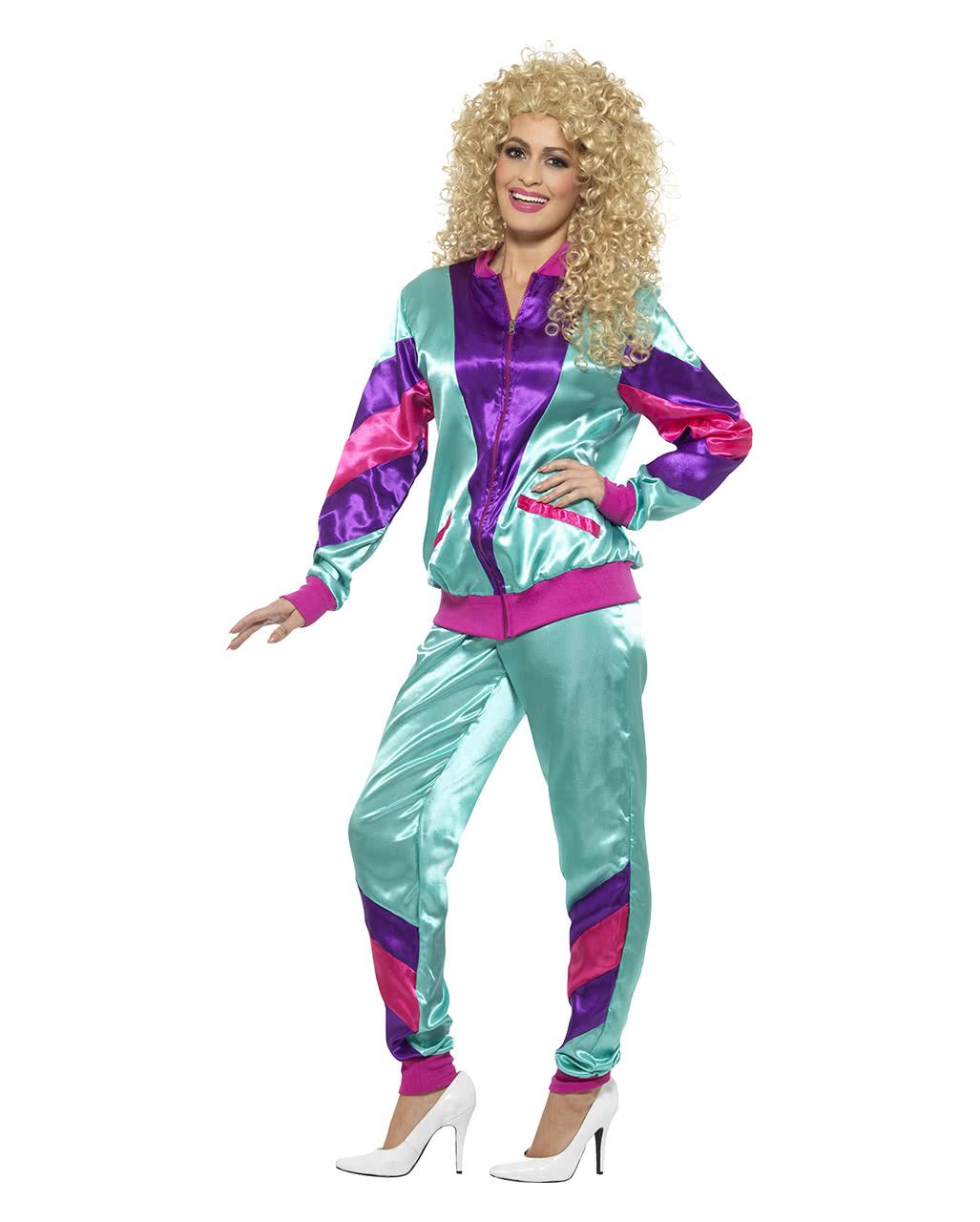 80er Jahre Trainingsanzug Kostum 80s Style Karneval Universe